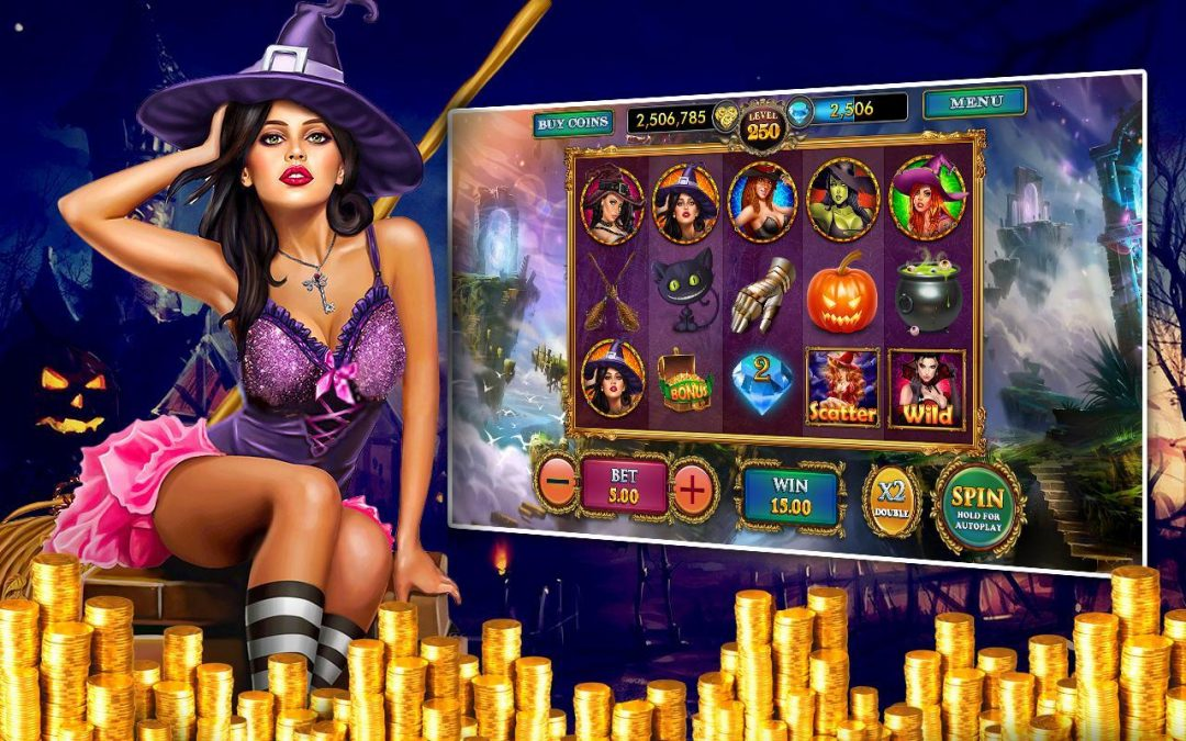 Be Lucky With The Lucky Witch Slot